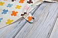 Накидка для кормления + сумочка-чехол, Плюсики, фото 5