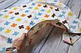 Накидка для кормления + сумочка-чехол, Плюсики, фото 6