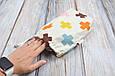 Накидка для кормления + сумочка-чехол, Плюсики, фото 8