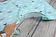 Накидка для кормления + сумочка-чехол, Облачка, фото 6