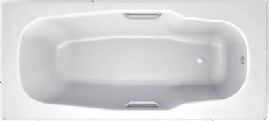Ванна стальна BLB ATLANTICA 170x80 з ручками Португалія