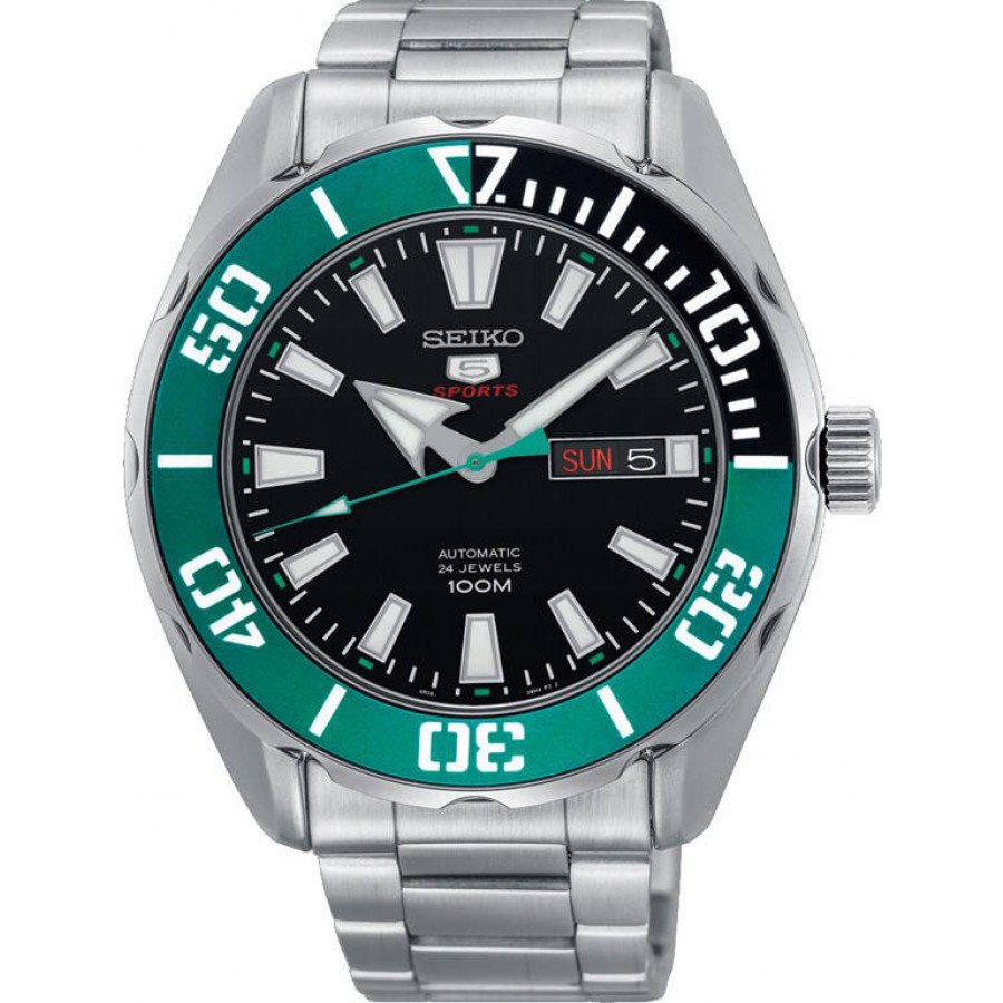 Часы Seiko 5 Sports SRPC53K1 Automatic 4R36