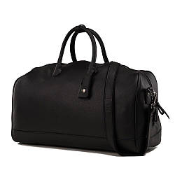 Cумка дорожная кожаная TIDING BAG M47-21455-1A Черный