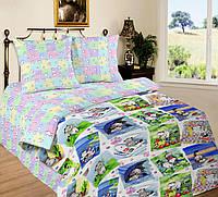 Подростковый комплект постельного белья Мурзик, поплин, фото 1