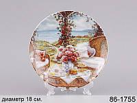 Декоративная тарелка  18 см лефард