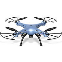 Квадрокоптер SYMA X5HW С WI-FI Camera Blue (19k)