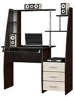 Компьютерный стол Эверест Школьник-стиль Венге комби