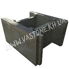 Несъемная опалубка для фундамента (блок из бетона)
