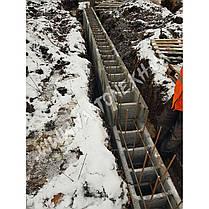 Несъемная опалубка для фундамента (блок из бетона), фото 3