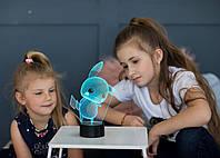 """Детский ночник - светильник """"Пикачу"""" 3DTOYSLAMP, фото 1"""