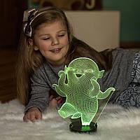 """Детский ночник - светильник """"Улыбака"""" 3DTOYSLAMP, фото 1"""