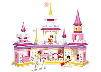 Конструктор Волшебный замок для принцессы серии Розовая мечта Sluban (B0251)