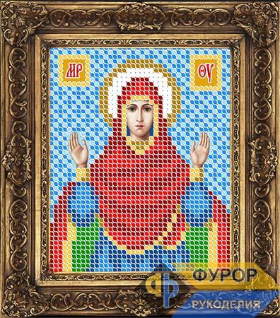 Схема для вышивки бисером иконы Пресвятая Богородица Нерушимая Стена (ИБ6-110)