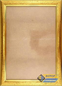 Рамка А4 (18х26 см) для вишитих картин і ікон ТМ Фурор Рукоділля (ФР-А4-2071-180-260)