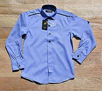 Рубашка на мальчика. Длинный рукав. Ворот 30-35, фото 1