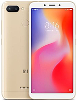 "Xiaomi Redmi 6 Gold 4/64 Gb, 5.45"", Helio P22, 3G, 4G (Global), фото 1"