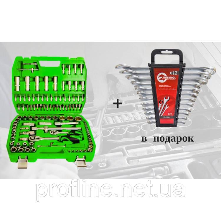 Набір інструментів 108 од. ET-6108SP + набір ключів 12 од. HT-1203