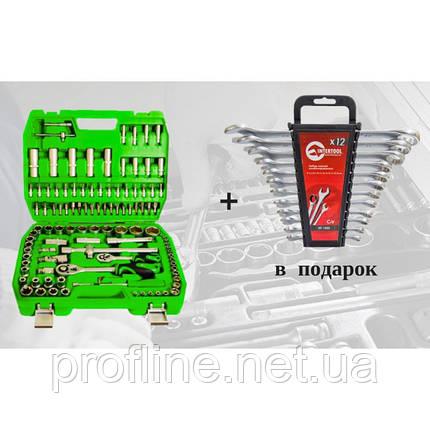 Набір інструментів 108 од. ET-6108SP + набір ключів 12 од. HT-1203, фото 2