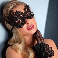 Карнавальная кружевная маска