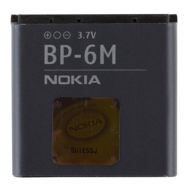 Акумуляторна батарея BP-6M для мобільного телефону Nokia 3250, 6151, 6233, 6234, 6280, 6288, 9300, 9300i, N73, N77, N93