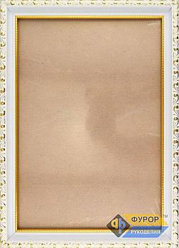 Рамка А4 (19х26 см) для вишитих картин і ікон ТМ Фурор Рукоділля (ФР-А4-2102-190-260)