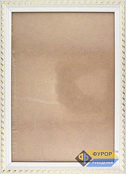 Рамка А4 (18х27 см) для вишитих картин і ікон ТМ Фурор Рукоділля (ФР-А4-2016-180-270)