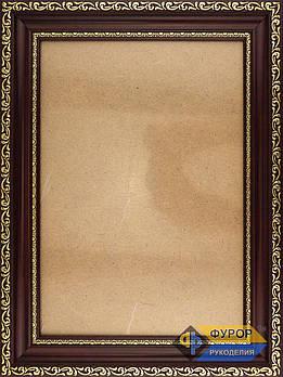 Рамка А4 (19х26 см) для вишитих картин і ікон ТМ Фурор Рукоділля (ФР-А4-3074-190-260)