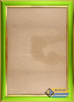 Рамка А4 (18х27 см) для вишитих картин і ікон ТМ Фурор Рукоділля (ФР-А4-2081-180-270)