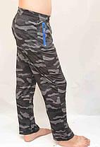 Брюки мужские камуфляжные - трикотаж, фото 3