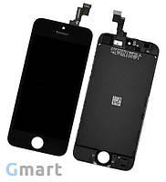Дисплей iPhone SE черный (LCD экран, тачскрин, стекло в сборе)