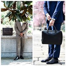 Кожаный портфель VS Деловая сумка для документов