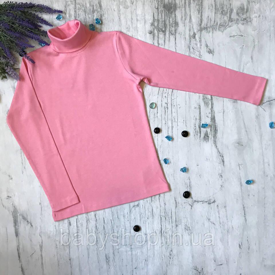 Водолазка для девочки Lovetti 1023. Размер 134 см, 140, 146 см, 152 см. Черная, темно-синяя, кремовая, розовая
