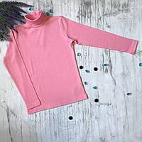 Водолазка для девочки Lovetti 1023. Размер 134 см, 140, 146 см, 152 см. Черная, темно-синяя, кремовая, розовая, фото 1