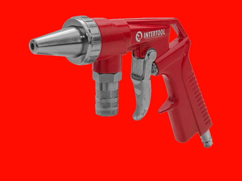 Пескоструйный пистолет INTERTOOL PT-0706