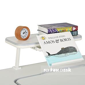Полка для книг SS16 FunDesk Grey, фото 2