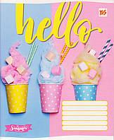 "Тетрадь школьная 96 л. клетка ""Hello ice-creame"" 762223, фото 1"