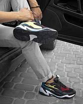 Чоловічі кросівки Puma Thunder Spectra Black/Yellow/White, фото 2