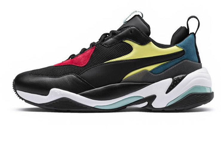 Чоловічі кросівки Puma Thunder Spectra Black/Yellow/White