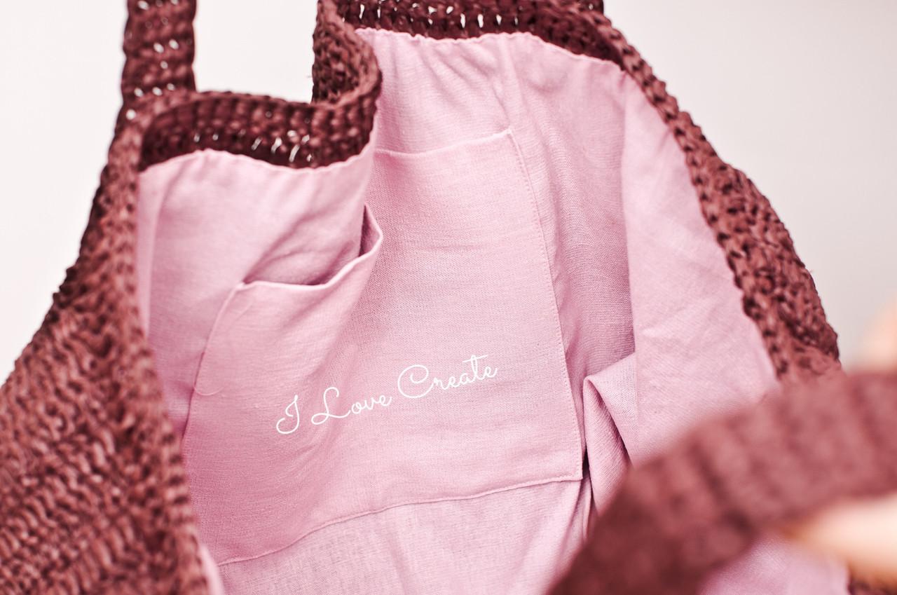 531f8a5037d3 Вязаная сумка Big Boss из натуральной рафии, Шоколад : продажа, цена ...