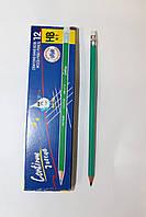 Простой карандаш с резинкой HB