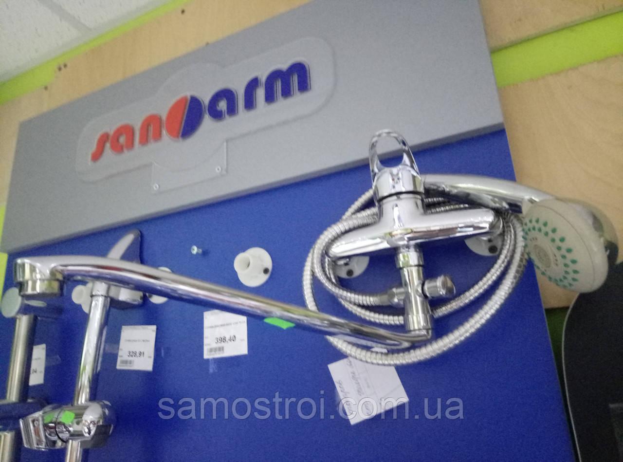 Смеситель для ванны SANARM LM MILANO длинный нос 0681-1