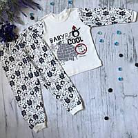 Пижама на мальчика и девочку Babyjoy 2. Размерыb 110 см, 116 см