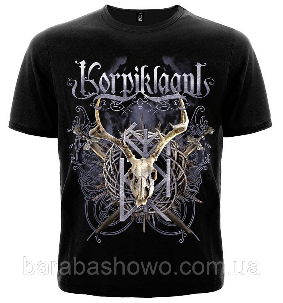Рок футболка Korpiklaani