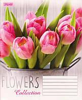 """Тетрадь школьная 96 л. клетка """"Flowers dream"""" 760138, фото 1"""
