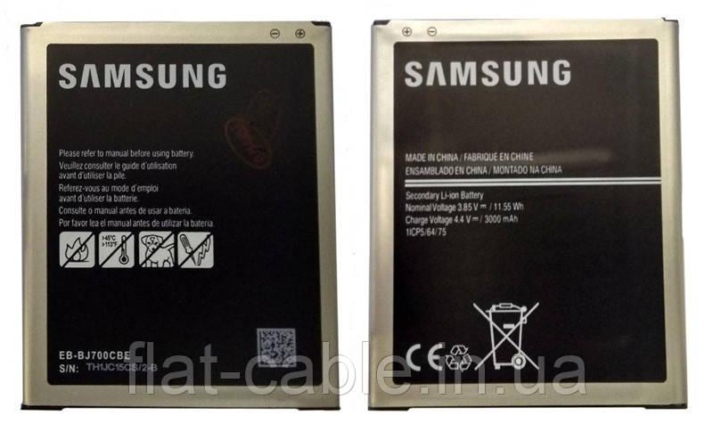 Батарея (аккумулятор) EB-BJ700BBC для Samsung Galaxy J7 (J700) 3000 mAh оригинал Китай