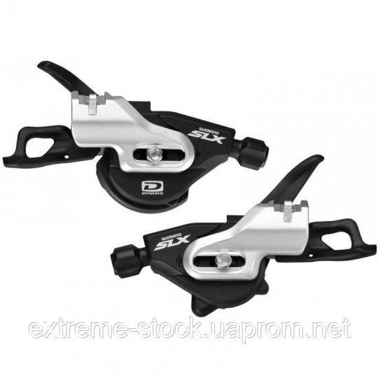 Манетки Shimano SLX SL-M670-B-I, I-Spec, 2/3х10, триггеры