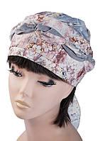 Бандана  женская Голубка Принт 02 стильная, модная, летняя, красивая  из хлопка  , купить