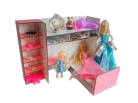 шкаф с кроватью для куклы барби купить недорого в украине киеве