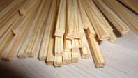 Квадратные деревянные палочки для конфет и печенья