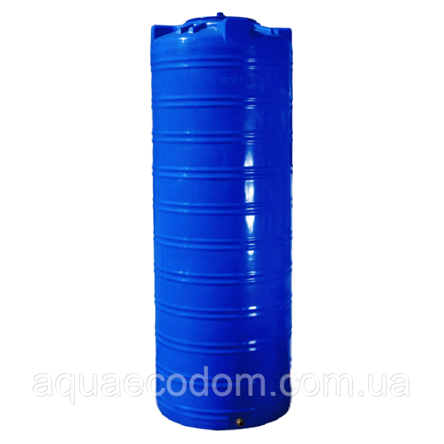 Емкость 1000 литров узкая (вертикальная)..